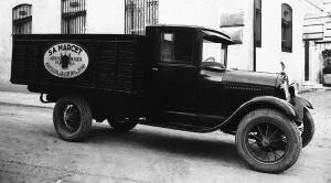 Ford Model AA Camio Carrosseries Caba (ES) 1928 года